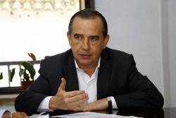 """El alcalde saliente de Piedecuesta, Ángel de Jesús Becerra, indicó que su administración tuvo un gobierno financiero """"responsable"""" en el que mejoró la calificación del municipio."""