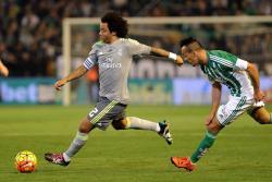 Marcelo sufrió una luxación en el hombro derecho