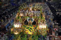 El carnaval de Río de Janeiro atrajo 1,03 millones de turistas