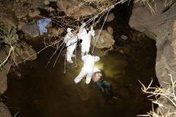 El cuerpo sin vida fue hallado en la quebrada Zapamanga, el jueves, a las 4:00 de la tarde. El CTI de la Fiscalía realizó la diligencia de levantamiento del cadáver.