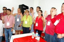 La ingeniera de sistemas Claudia López Rodríguez, esposa del representante Miguel Ángel Pinto y tía de Didier Tavera, fue elegida como presidenta municipal del partido liberal.