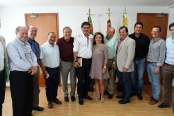 Gabinete municipal y directivas del Concejo discutieron los avances del debate Plan de Desarrollo en el cabildo.