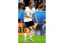 Ante la ausencia de Mario Gómez, el atacante Thomas Müller se transforma en la esperanza de gol de Alemania.