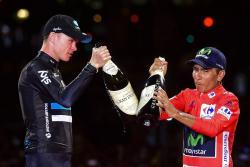 Froome encantado con la Vuelta y con la mejor temporada de su vida