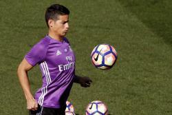 James Rodríguez es titular del Real Madrid ante Borussia en la Champions