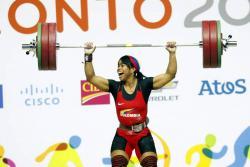 Leidy Solís, medallista de bronce Olímpica en Pekín 2008