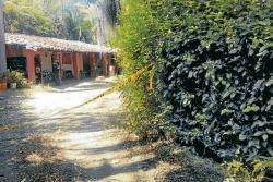 El cuerpo sin vida de Heriberto Ortiz Meneses fue hallado en la finca Los Almendros, donde residía, en la vereda La Granja del Cucharo del municipio de Pinchote.