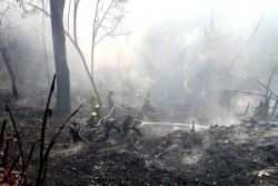 Alerta por incendios forestales en Bucaramanga: van 154 este año