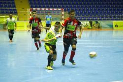 Real Bucaramanga buscará clasificar a las semifinales de la Liga Argos de Fútbol Sala Fifa, cuando reciba hoy, a las 7:00 p.m., a Leones de Itagüí, en el coliseo Vicente Díaz Romero.