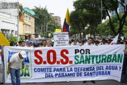La bancada santandereana en el Congreso le pidió al presidente Santos que nombre un subcomisión de la Cámara de Representantes para hacer seguimiento a las medidas de protección del páramo de Santurbán por parte del Gobierno Nacional.