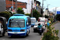 El gremio de buseteros pide acompañamiento a las autoridades de Policía en rutas específicas.