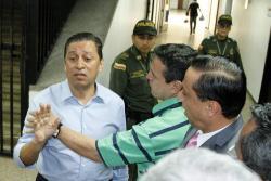 En las audiencias preliminares, la Fiscalía imputó cargos al exalcalde de Bucaramanga Luis Francisco Bohórquez.