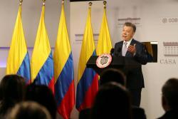 El presidente Juan Manuel Santos anunció que el Gobierno Nacional está implementando una estrategia para evitar posibles ataques cibernéticos en las elecciones de este año.