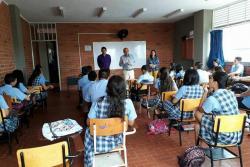 Elección de personero estudiantil, drogas y derechos humanos hacen parte de los temas trabajados, en estos espacios.