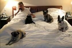 Los perros de Juan Manuel Santos son estrellas en Instagram
