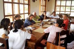 Los gremios asistentes a la segunda reunión del Consejo Intergremial, fueron Cámara de Comercio seccional San Gil, Fenalco Sur de Santander, Agasturin (San Gil), CorpoCharalá y la Corporación Barichara Cultura y Turismo-Probarichara.