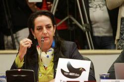 Tras las revelaciones de la Fiscalía, un abogado radicó demanda en contra de la senadora electa María Fernanda Cabal ante la Corte Suprema de Justicia.