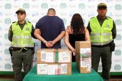 Los elementos hurtados fueron recuperados por la Policía. Los detenidos deberán responder por el delito de hurto.