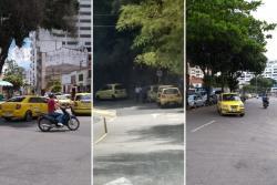 Infracciones de los taxistas, principal queja de los conductores de Bucaramanga