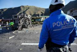 Suspenden repatriación de los heridos colombianos accidentados en Ecuador