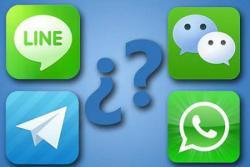 ¿Cuál es la mejor opción: Telegram, WhatsApp o Line?