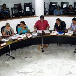 Los doce concejales de la coalición, 10 liberales, uno de Opción Ciudadana y uno del Mais, fueron acusados ante la Procuraduría por presuntas irregularidades en la elección del Secretario.