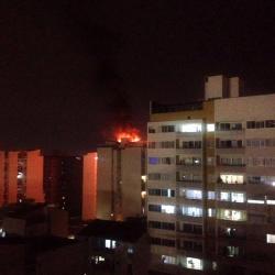 Incendio en apartamento del Centro de Bucaramanga generó pánico