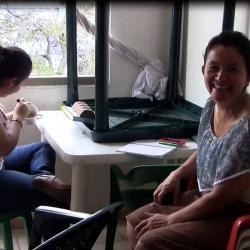 Conozca a la mujer que da 'amor maternal' a enfermos y sus familias en Bucaramanga