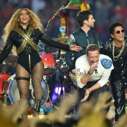 Así fue el show de Coldplay, Bruno Mars y Beyonce en el Super Bowl