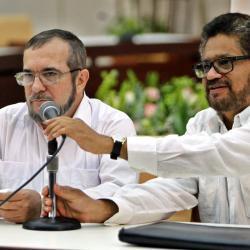 Sigue discrepancia entre las Farc y Santos por plebiscito