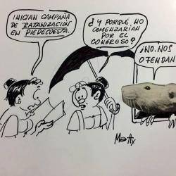 Matty cumplió cuatro décadas de carrera como caricaturista este año. Inició en Vanguardia Liberal en 1976.