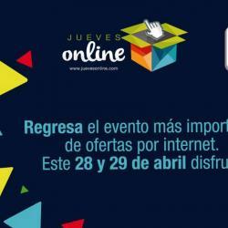 Si le gusta comprar por internet, este jueves es el día para hacerlo