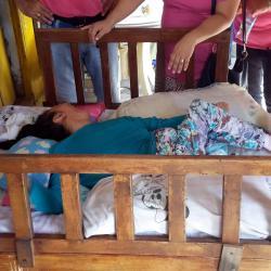 Drama de una santandereana con parálisis cerebral que requiere una cama hospitalaria