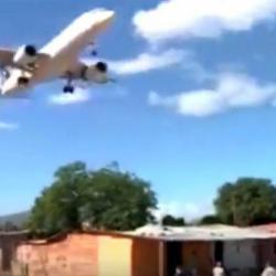 En video quedó registrada maniobra de piloto en el aeropuerto de Cúcuta