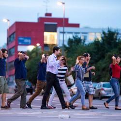 Video registró el inicio del tiroteo que dejó nueve muertos en Alemania