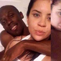 Fotos comprometedoras ponen en riesgo el matrimonio de Usain Bolt