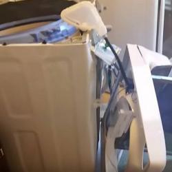 Alerta por explosiones en lavadoras de Samsung