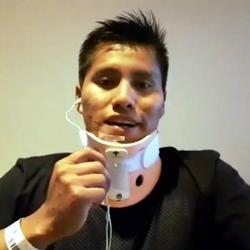 Erwin Tumirí sobreviviente de avión Chapecoense agradeció el apoyo de los colombianos