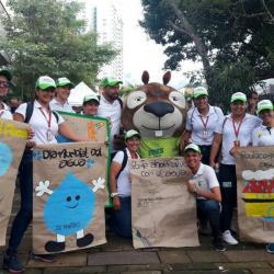 Bucaramanga conmemoró el Día Internacional del Agua con juegos y charlas