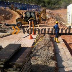 Así avanza la construcción de la nueva cárcel en el sector de Palogordo
