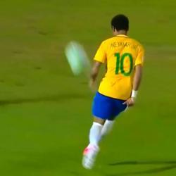 Reviva el golazo de Neymar con Brasil en la goleada 4 a 1 ante Uruguay
