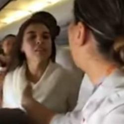 El escándalo que provocó mujer ebria en pleno vuelo entre Bogotá y Nueva York