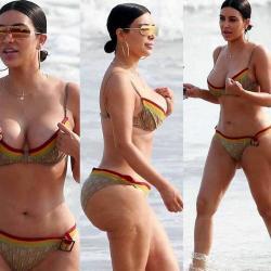 Así luce Kim Kardashian sin Photoshop