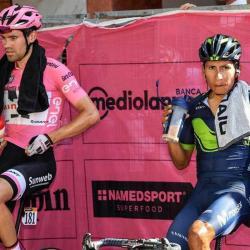 Dumoulin desea que Nairo Quintana pierda el podio en el Giro de Italia