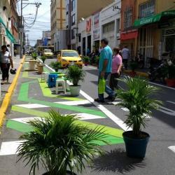 Entienda qué es eso del urbanismo táctico que se tomó sectores de Bucaramanga