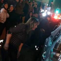 La escena duró más de 22 minutos y fue detenida por la Policía chilena.