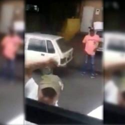 Video registró agresión a conductor de Metrolínea en Bucaramanga
