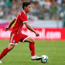 Vea el primer gol de James Rodríguez con el Bayern Múnich