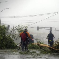 Imágenes del devastador paso del huracán María por Puerto Rico