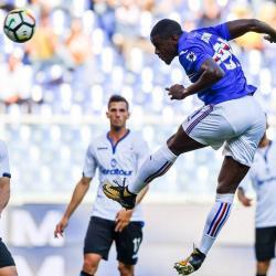 Vea el gol que marcó Duván Zapata en el triunfo de Sampdoria